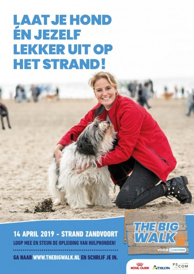 The Big Walk voor HULPHOND 14 april